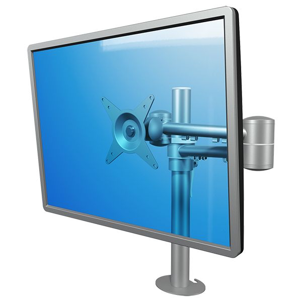 Brazo de mesa 1 monitor viewmate for Soporte monitor mesa