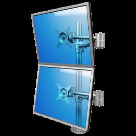 Brazo de mesa 2 monitores regulable - ViewMate