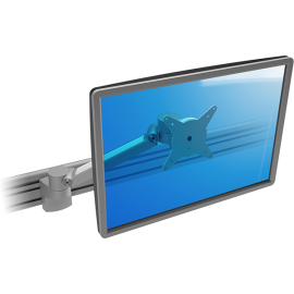 Brazo de riel 1 monitor ajustable - ViewLite