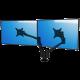 Soporte ViewLite de mesa para 2 monitores